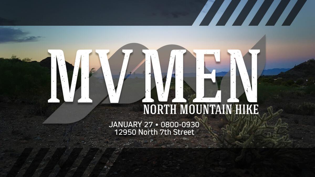 MV Men's Hike