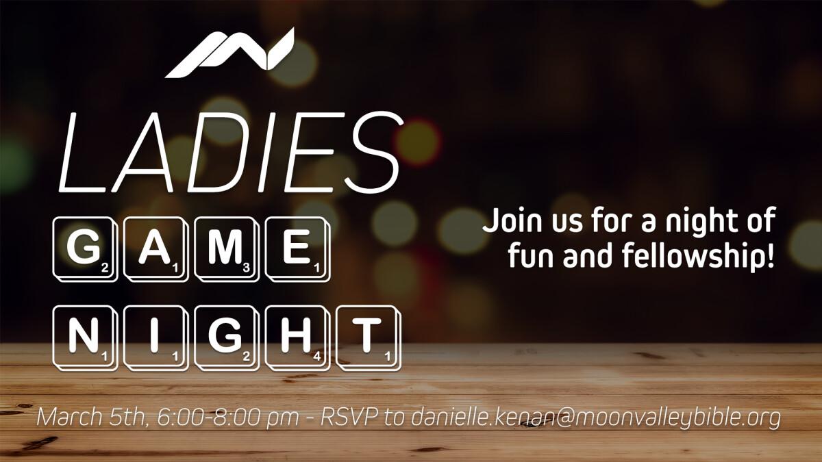 Ladies' Game Night