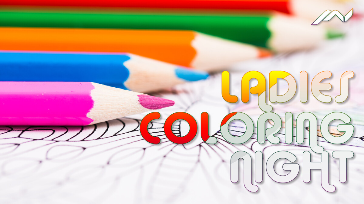 Ladies Coloring Night
