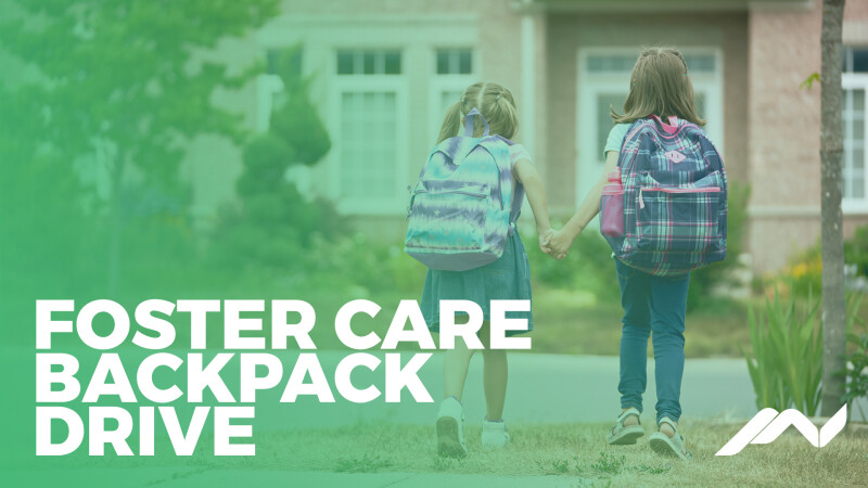 Foster Care Backpacks Packing Party
