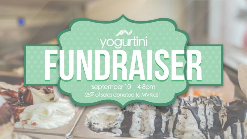 Yogurtini Fundraiser