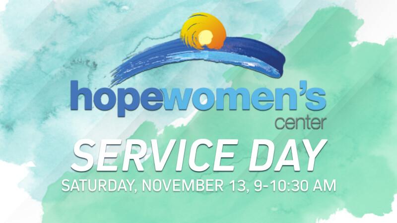 Hope Women's Center Service Day